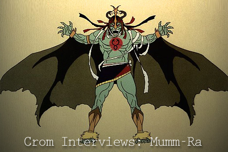Mumra  Thundercats on Crom Interviews  Mumm Ra   Reading For New Times     Exposing