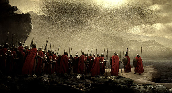 Movie: 300 - Scenes from the movie