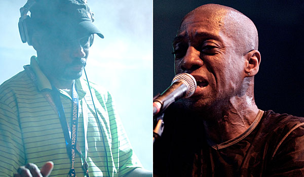 Larry Heard (left), and Robert Owens (right)